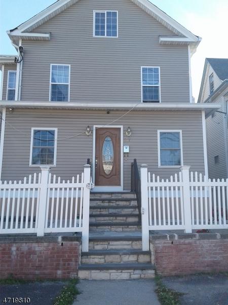 Casa Unifamiliar por un Alquiler en 367 Lafayette Avenue Passaic, Nueva Jersey 07055 Estados Unidos