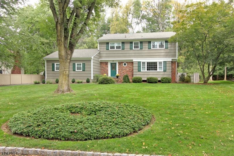 Maison unifamiliale pour l Vente à 59 Pitcairn Drive Roseland, New Jersey 07068 États-Unis