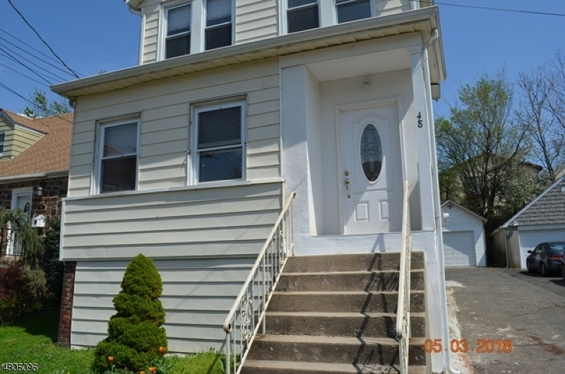Single Family Home for Sale at 48 ERNEST ST 48 ERNEST ST Nutley, New Jersey 07110 United States