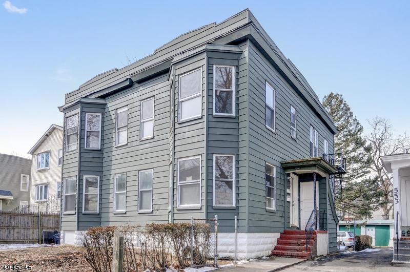 Multi-Family Homes för Försäljning vid East Orange, New Jersey 07017 Förenta staterna