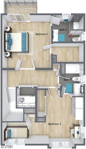 Maison unifamiliale pour l Vente à 749-751 Marin Avenue Lyndhurst, New Jersey 07071 États-Unis