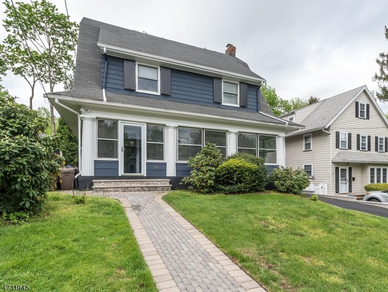 独户住宅 为 销售 在 16 Sommer Avenue Maplewood, 新泽西州 07040 美国