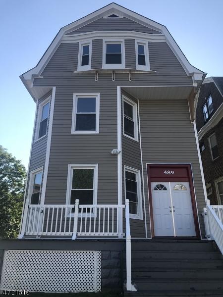 独户住宅 为 出租 在 489 Park Avenue East Orange, 新泽西州 07017 美国