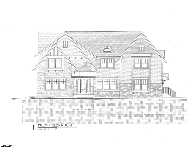 Maison unifamiliale pour l Vente à 17 ROLLING HILL Drive Chatham, New Jersey 07928 États-Unis