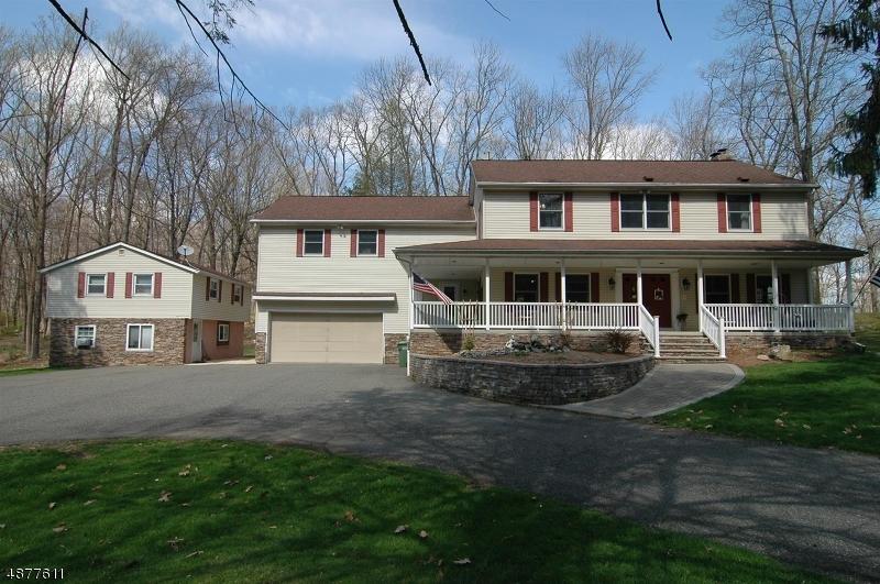 Частный односемейный дом для того Продажа на 251 SHILOH Road Hope, Нью-Джерси 07825 Соединенные Штаты