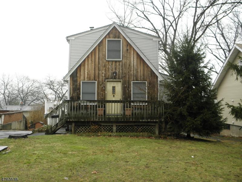 Частный односемейный дом для того Продажа на 110 MOUNTAIN Avenue Haledon, Нью-Джерси 07508 Соединенные Штаты