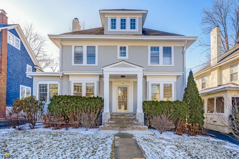Частный односемейный дом для того Продажа на 32 Sommer Avenue Maplewood, Нью-Джерси 07040 Соединенные Штаты