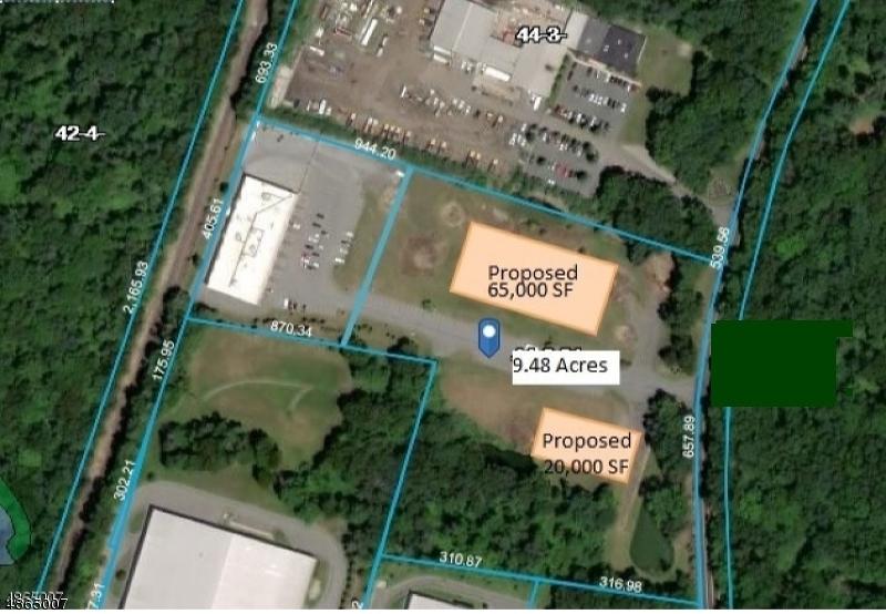 Земля для того Продажа на 999 WILLOW GROVE Street Hackettstown, Нью-Джерси 07840 Соединенные Штаты