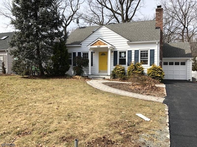 Частный односемейный дом для того Продажа на 322 HUNTINGTON Road Union, Нью-Джерси 07083 Соединенные Штаты