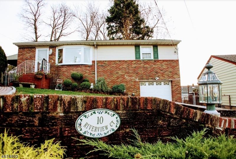 Частный односемейный дом для того Продажа на 10 Riverview Court Kearny, 07032 Соединенные Штаты