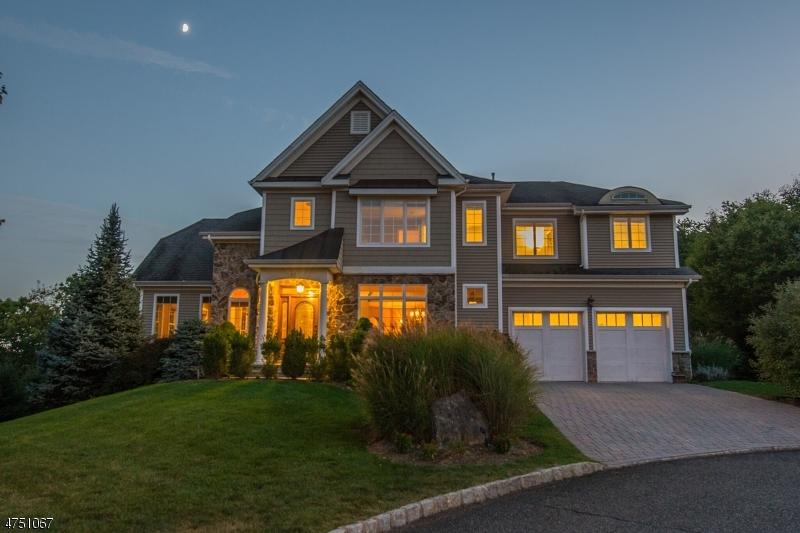 Maison unifamiliale pour l Vente à 65 Overlook Ridge Oakland, New Jersey 07436 États-Unis