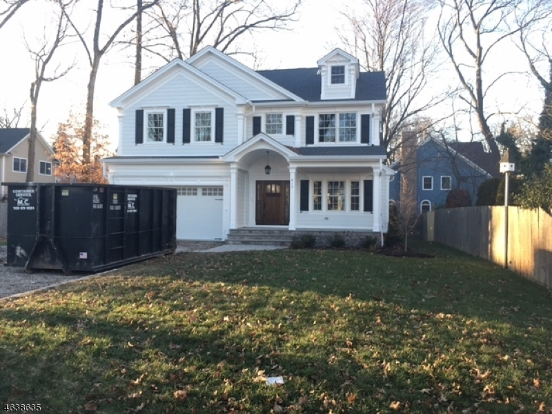 Single Family Home for Sale at 813 4th Avenue Westfield, New Jersey 07090 United States