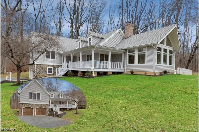 Частный односемейный дом для того Продажа на 149 Hollow Brook Road Califon, 07830 Соединенные Штаты
