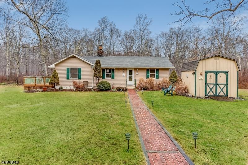 Maison unifamiliale pour l Vente à 851 Jackson Valley Road Oxford, New Jersey 07863 États-Unis