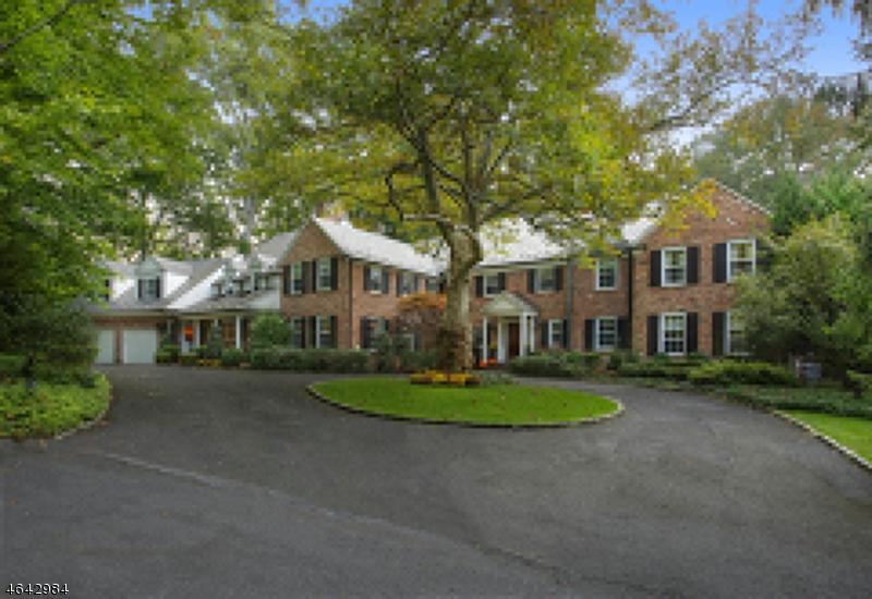 Частный односемейный дом для того Аренда на 20 Hardwell Road Short Hills, Нью-Джерси 07078 Соединенные Штаты