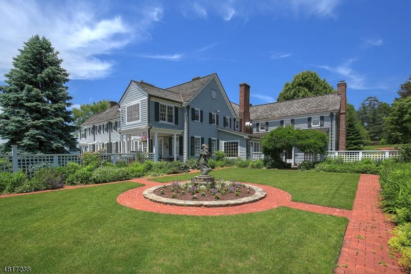 Maison unifamiliale pour l Vente à 650 POTTERSVILLE Road Bedminster, New Jersey 07979 États-Unis