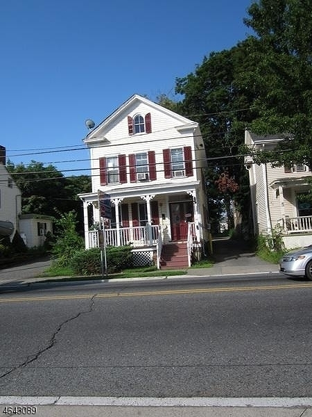 Great location on Route 46. Victorian building with first floor unit that can be used for office/retail. Plenty of off street parking in rear of building.   Building is also For Sale see MLS.  Tenant to pay their share of utilities.