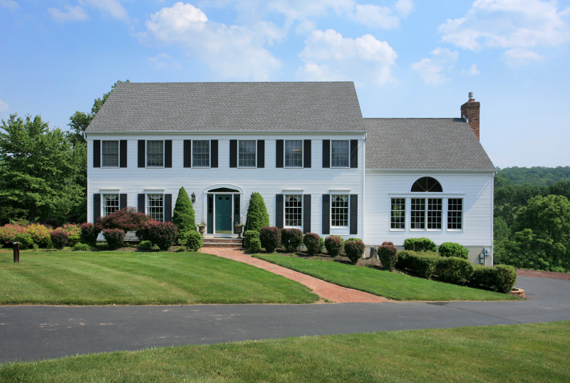 Nestled on almost two rolling acres near Round Valley Reservoir, this stately Colonial is a welcoming residence with three levels of beautifully designed living space ideal for entertaining,