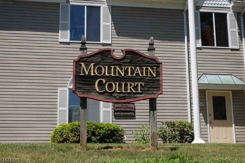 1st Floor Office Condo located in desirable Mountain Court complex in the heart of Hackettstown. Plenty of onsite parking for staff or customers. Spacious unit currently configured with two individual offices, conference room, kitchen area, large open area, reception area and two bathrooms. Unit has two entrances. Unit is in move in condition, bring your business and staff and enjoy your new location. Rent includes real estate taxes and monthly condominium fees.