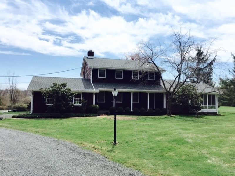 Distinctive Country Colonial set on 5 level open acres on Hill and Dale presenting equestrian features such as four stall barn and pony barn, two run in sheds, two large fenced fields, five paddocks, riding ring with all weather footing and more in the company of many other equestrian properties.