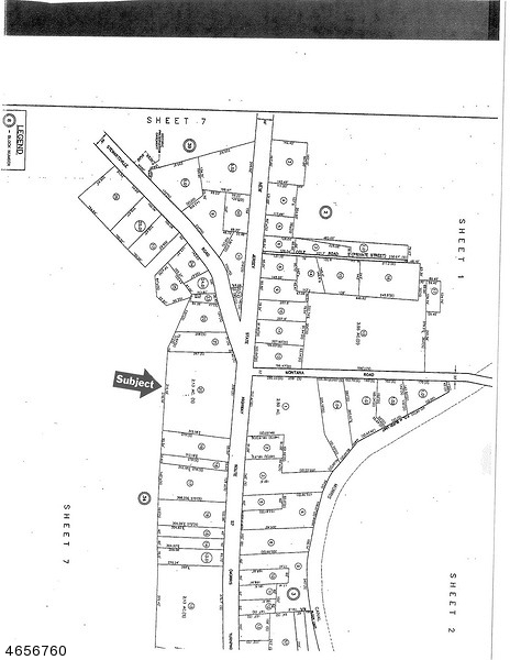 Great corner lot to built strip mall. Old building burned down can be rebuilt its approximately 7500 SF, can be retail with apartment upstairs. Restaurant, bar, bring your imagination.  Possible owner will partner with developer or finance the purchase. There is a septic with 9600 gallon capacity has DEP sewer permit.