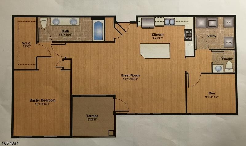 25-101  Mill St, Residence 101 Bernardsville Boro, NJ 07924-2250