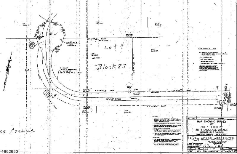 86-1  DOUGLASS AVE Bernardsville Boro, NJ 07924-1911