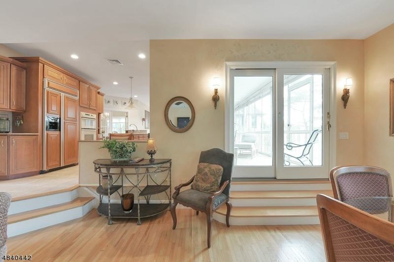 Access to Kitchen and porch from Great room