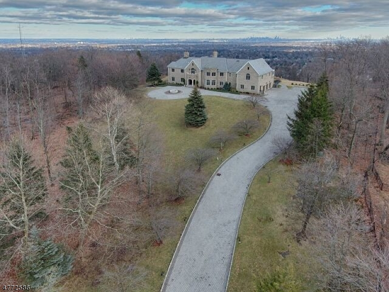 The Curving 450' Belgian Block Driveway With Fountains Welcomes You To This Home. In The Fashion Of An English Manor Home, A Supra Slate Roof, Decorative Chimney With Tall Flues. Limestone And Hamilton Blend Brick Were Chosen For The Exterior
