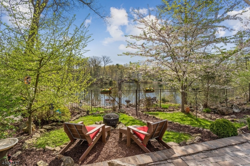 Enjoy quite surroundings of cub lake or join the association of Lake Forest. Cub lake feeds private Panther Lake.