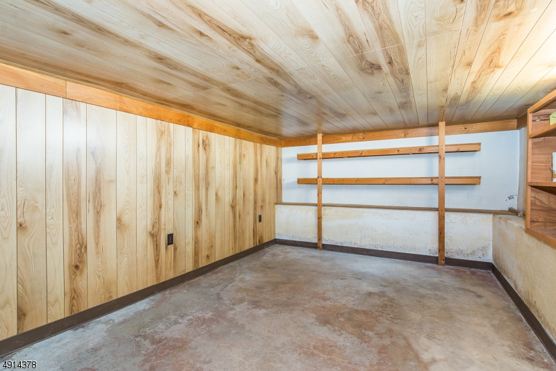 Partially finished basement room , good for storage, exercise or??