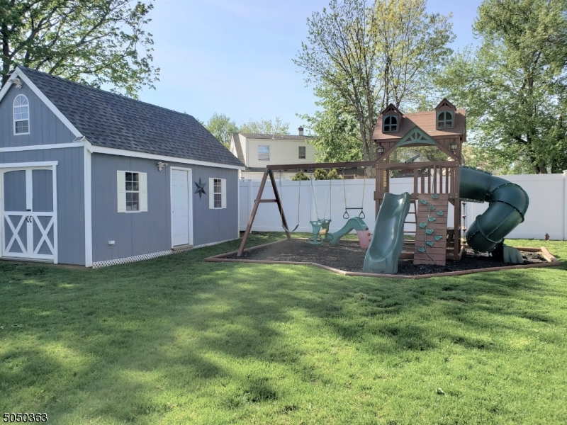 NEW Shed (with electric) and jungle gym
