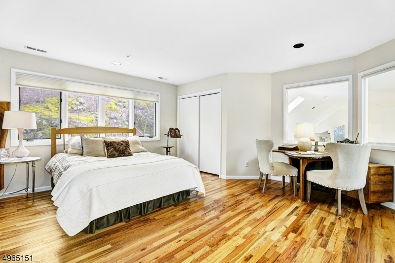 En suite with private full bath located on second level. Double closet. Wood floors.