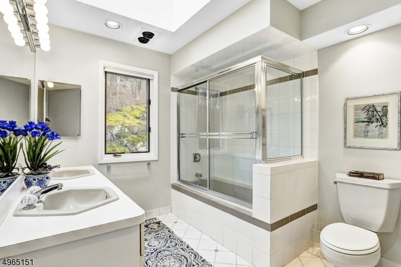 Main bath on second level.