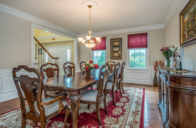 Formal Dining Room with hardwood flooring