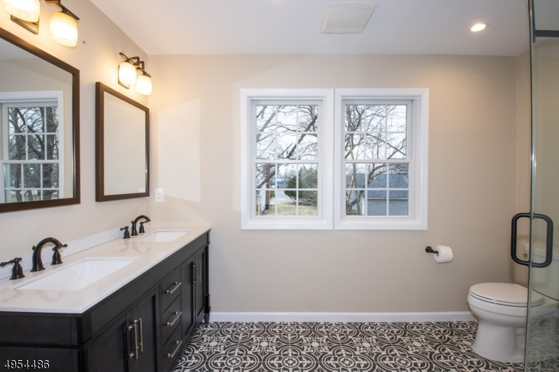 Master Bath - Brand New! Large Double Sink Vanity with Radiant Heat Tile Floor.