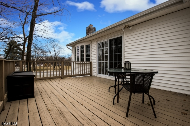 Spacious Deck Off of Kitchen...Great for Morning Coffee, Outdoor Meals, or Just Relaxing!