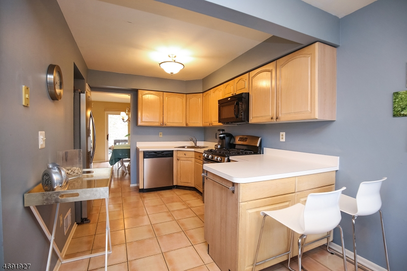 Nice size kitchen with Stainless Appliances