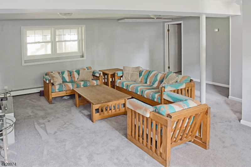 Lower level Family Room.