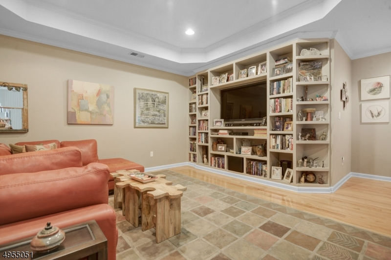 Wall unit and TV included in home sale