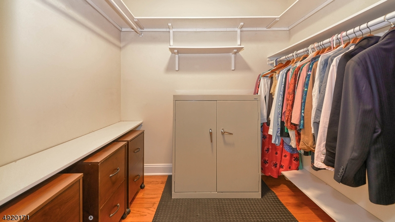 Large closet in master bdrm.