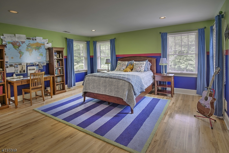 Ample size bedroom with large closets.