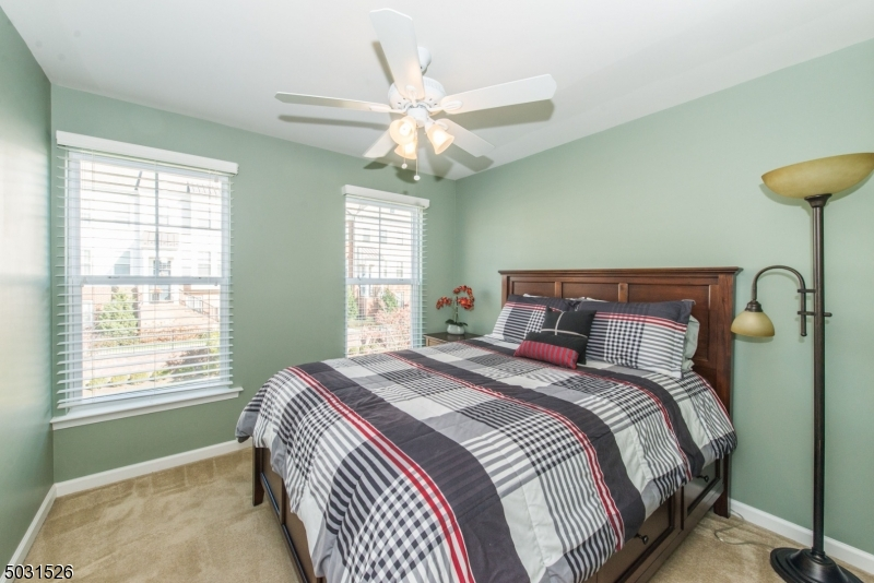 Sunny and bright 2nd floor bedroom