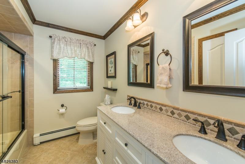 Double sink vanity , updated  bath