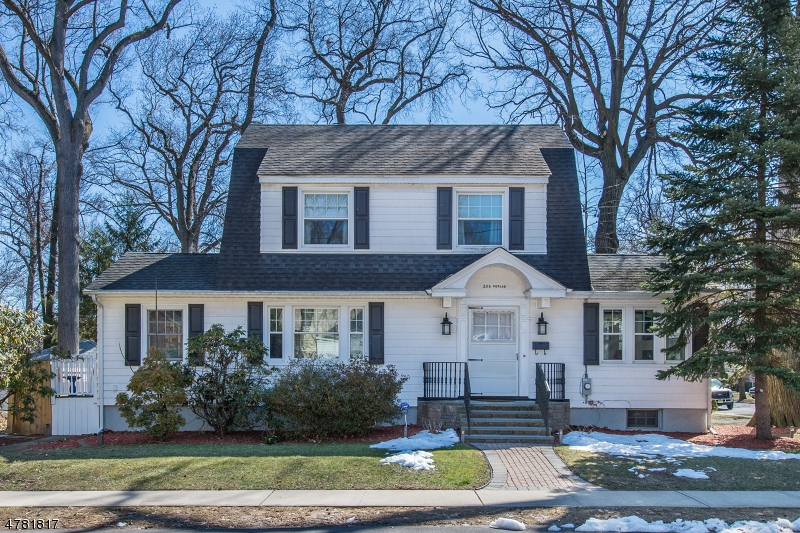 Meticulously maintained Dutch Colonial in the Fairmount section of Hackensack.