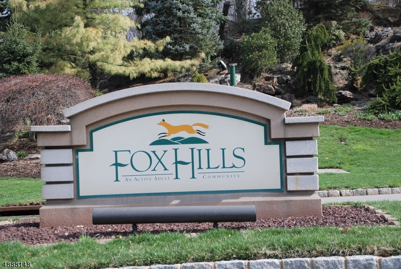 Welcoming you home is a reminder that you have arrived at Fox Hills.