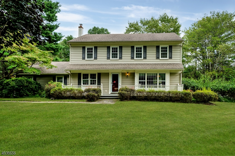 Welcome to this impeccable colonial that sits on 2.05 level acres in a private neighborhood setting close to the Mendham border. A new 4 bedroom septic is in the process of being installed.