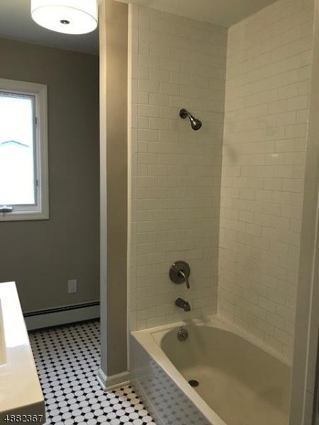 Full bath on first floor.