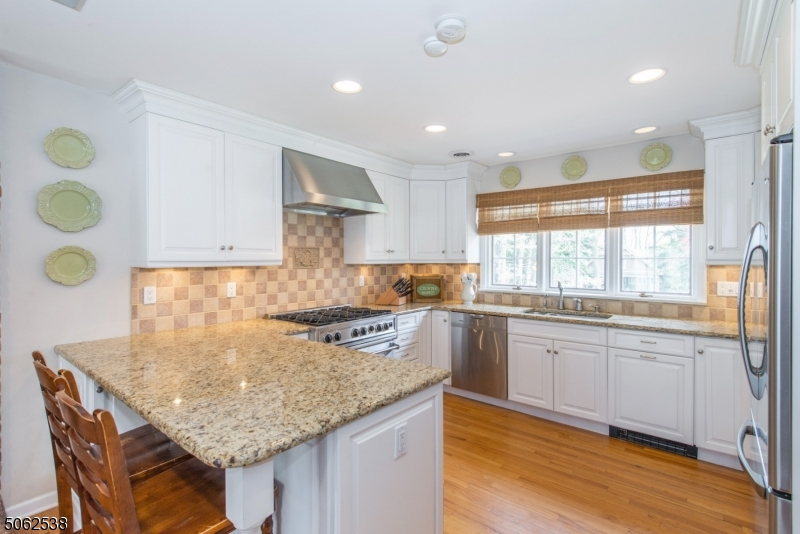 Gas stove, Stainless Steele appliances