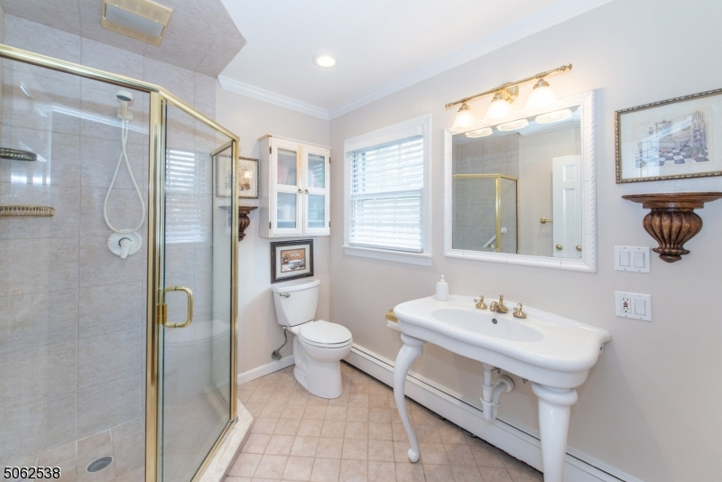 Updated Master Bath with shower stall